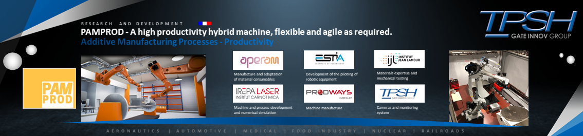 PAMPROD - A high productivity hybrid machine, flexible and agile as required_TPSH
