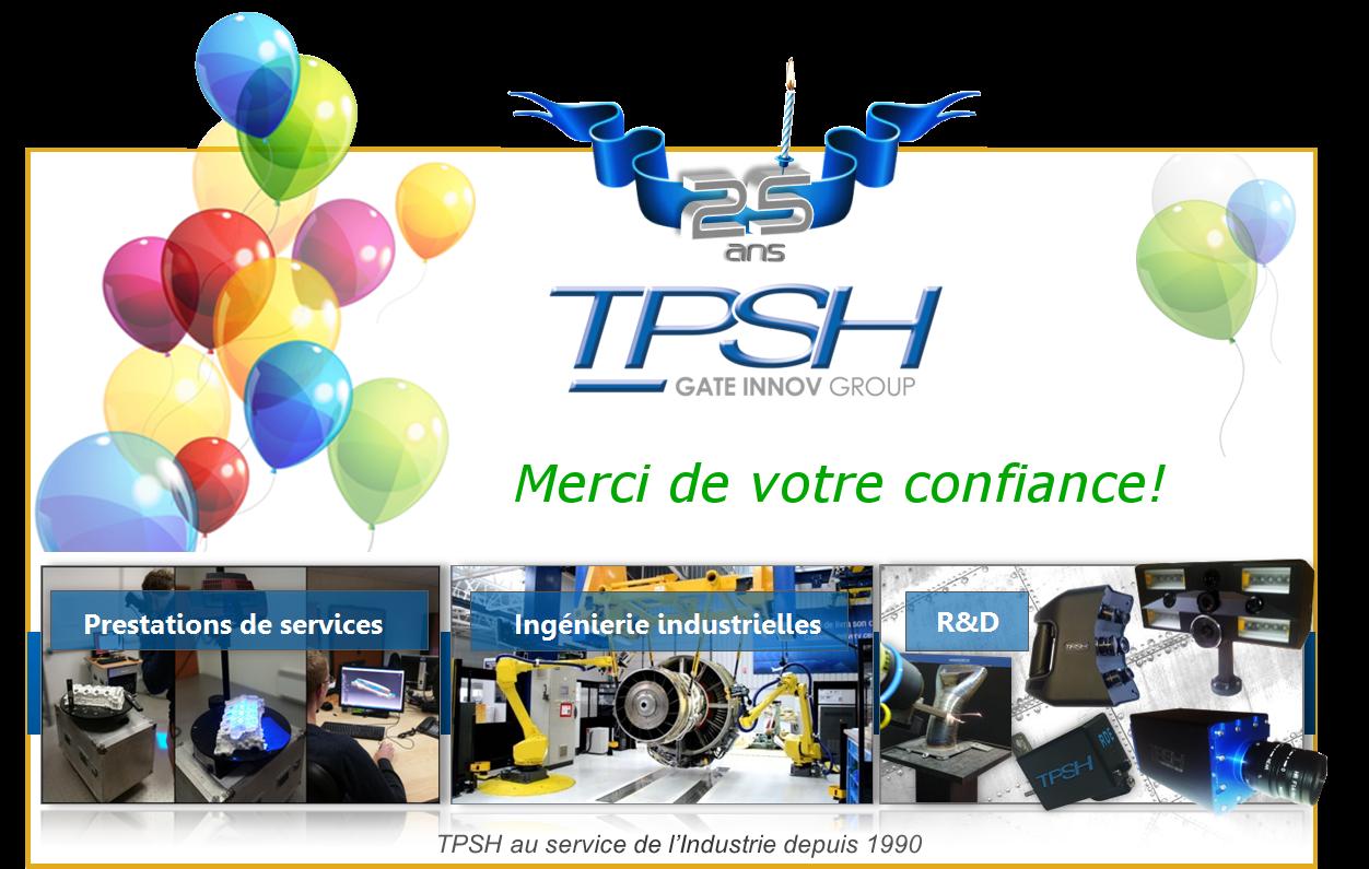 TPSH fête ses 25 ans d'expérience