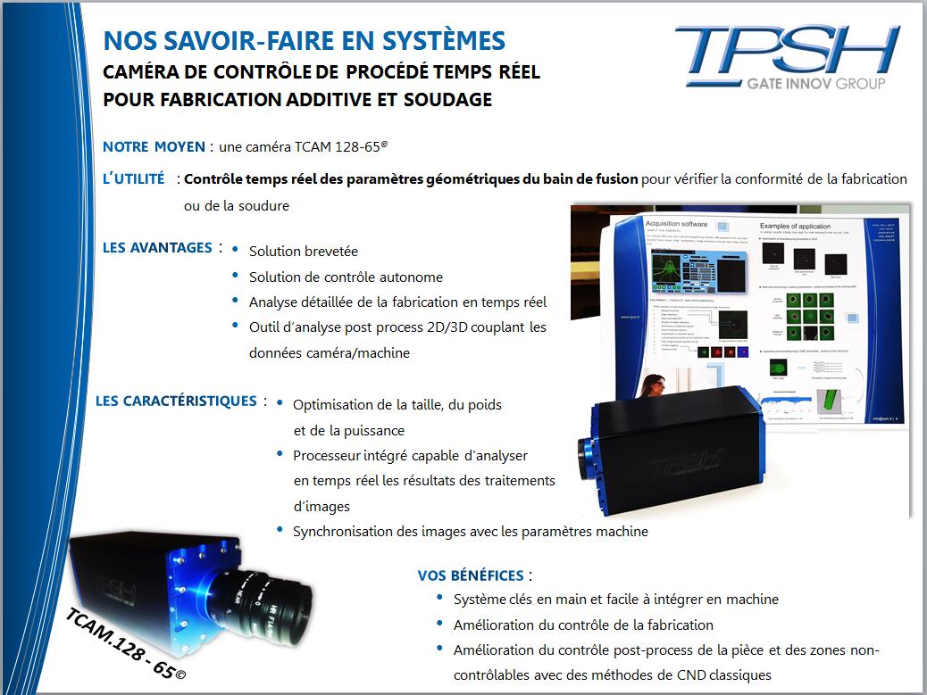 Caméra TPSH_TCAM128-65