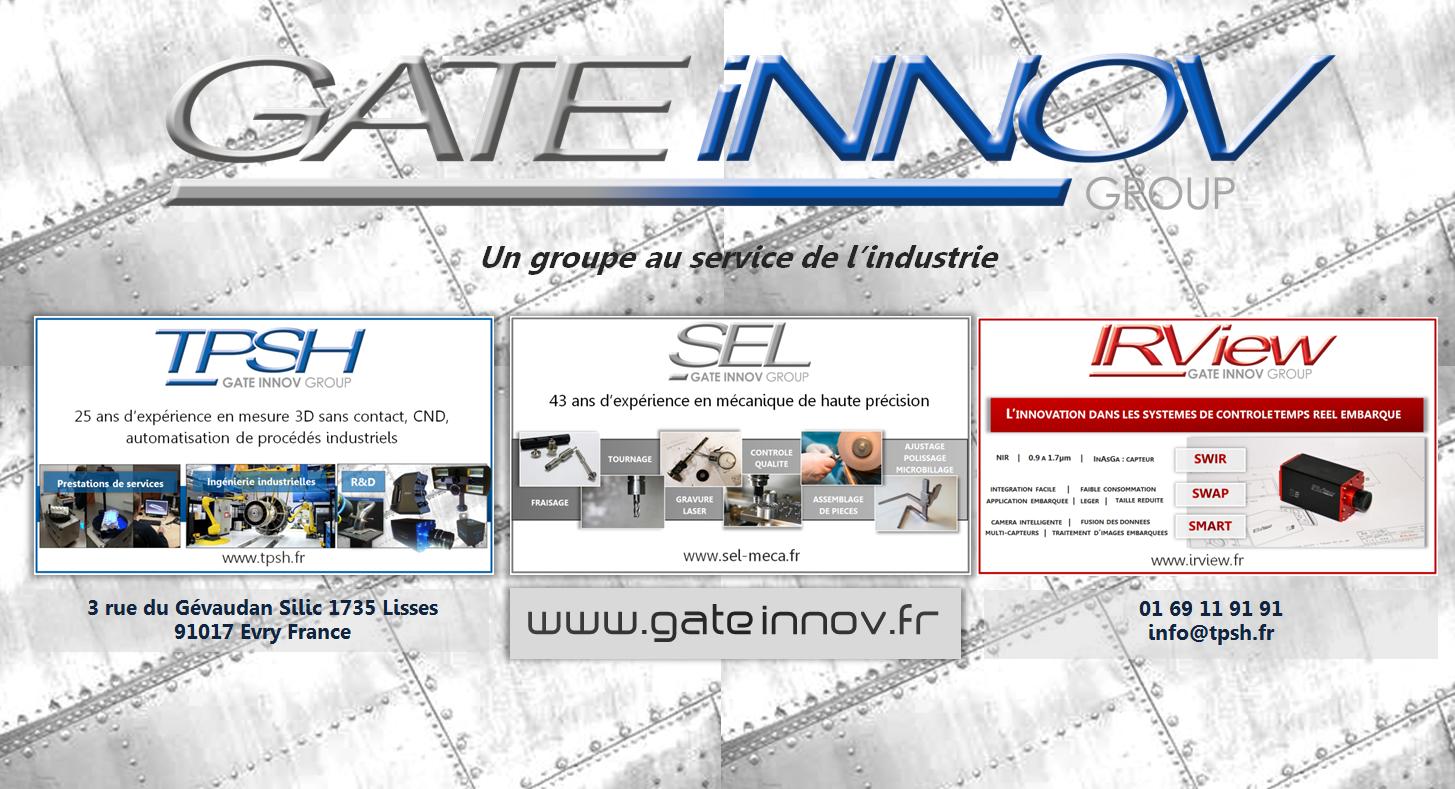 Gate Innov : un groupe au service de l'Industrie