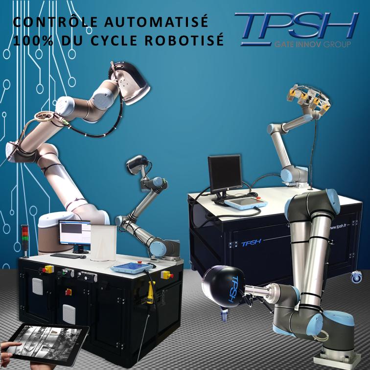 Détection de défauts automatique robotisé TPSH_cobot mobile