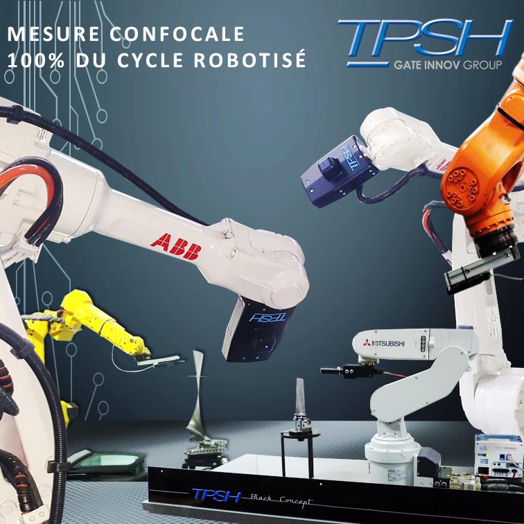 Système de mesure confocale automatique_robotique_TPSH