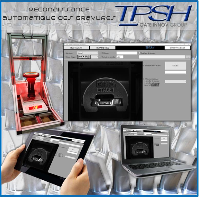 détection automatique d'éléments gravés TPSH