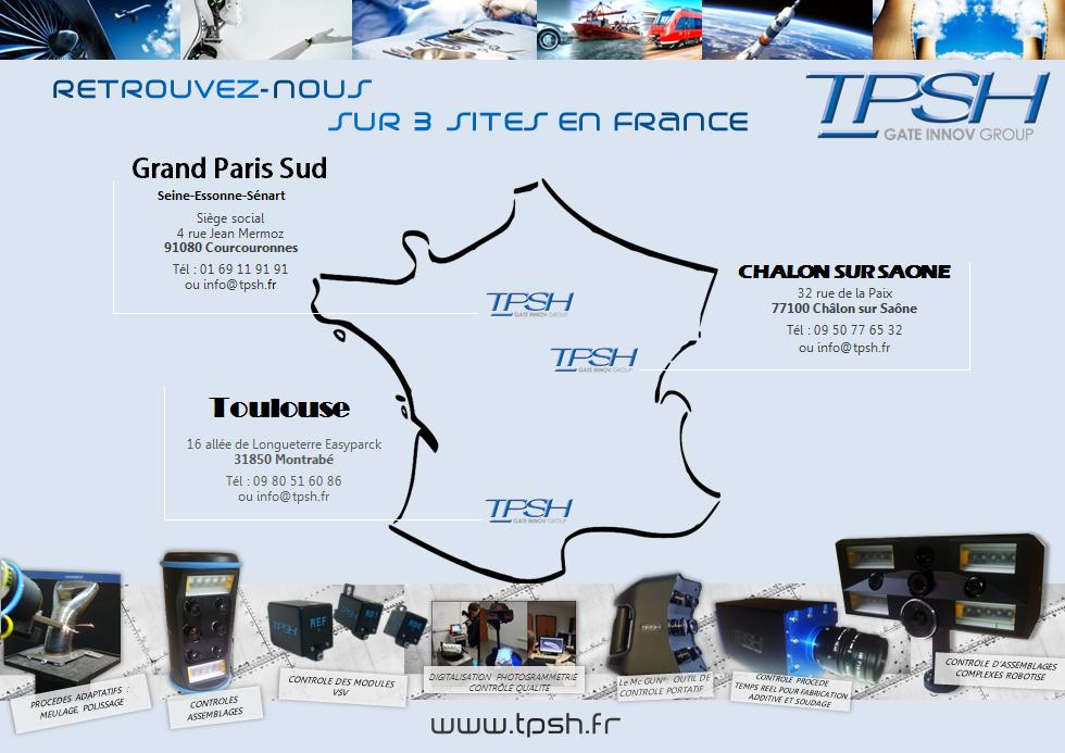 TPSH - IDF - Chalon - Toulouse