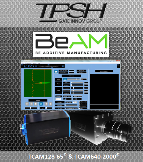 BeAM_TPSH_caméra CND temp réel_fabrication additive