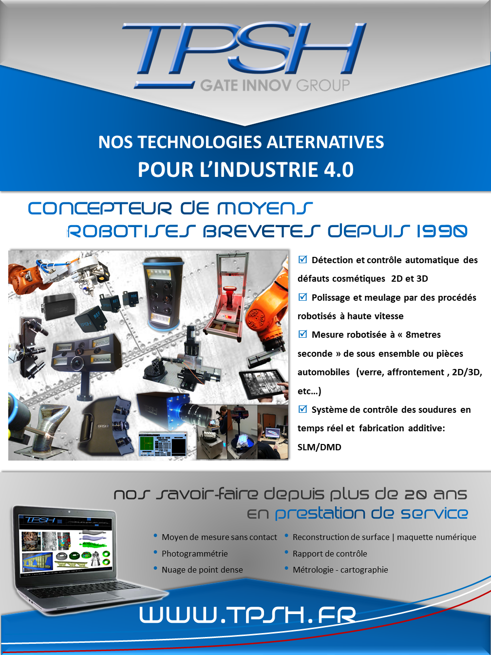 TPSH_nos technologies alternatives pour l'industrie 4.0