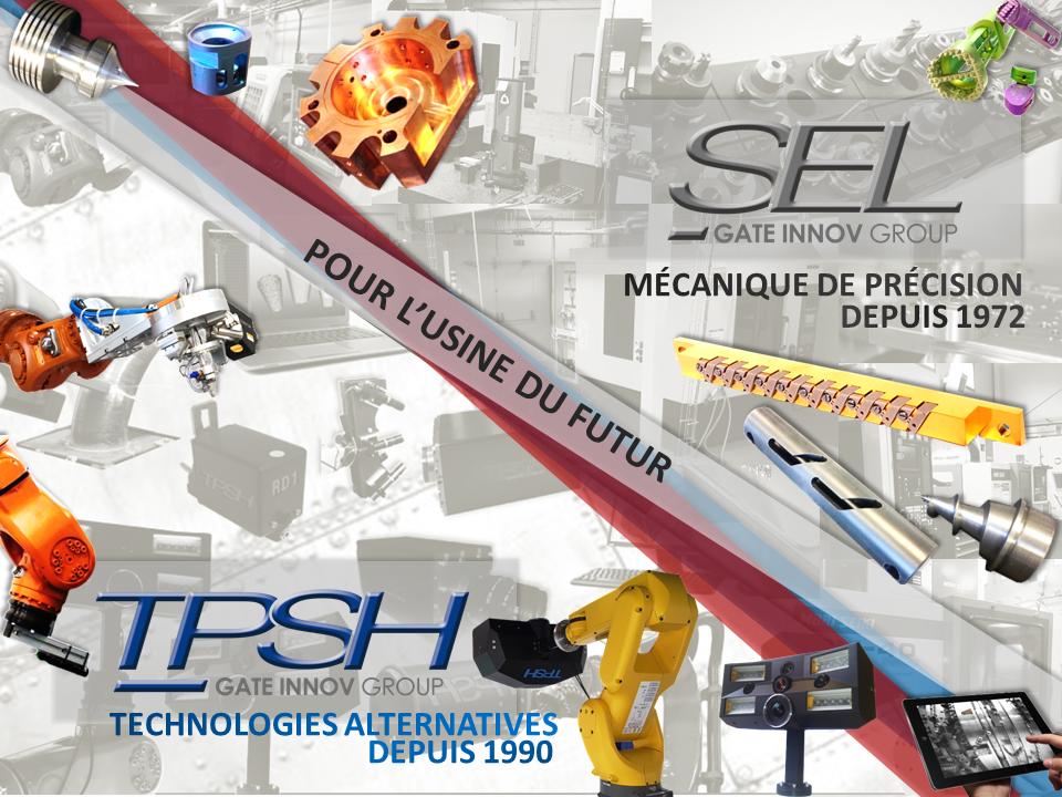 TPSH & S.E.L SONT À VOS COTÉS POUR VOTRE TRANSFORMATION INDUSTRIELLE