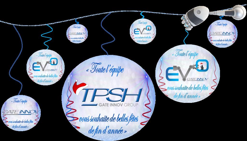 TPSH_EVO_GATE INNOV_vous souhaite de belles fêtes de fin d'année 2019