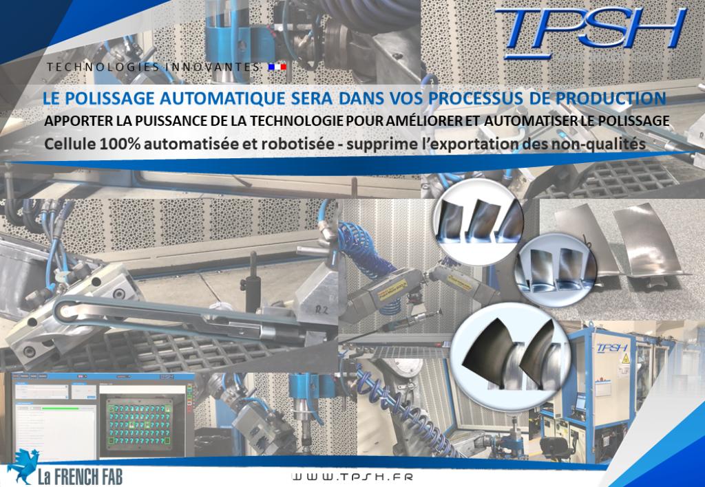 Cellule robotisée_automatisée_polissage_ébavurage_meulage_procédés adaptatifs_TPSH