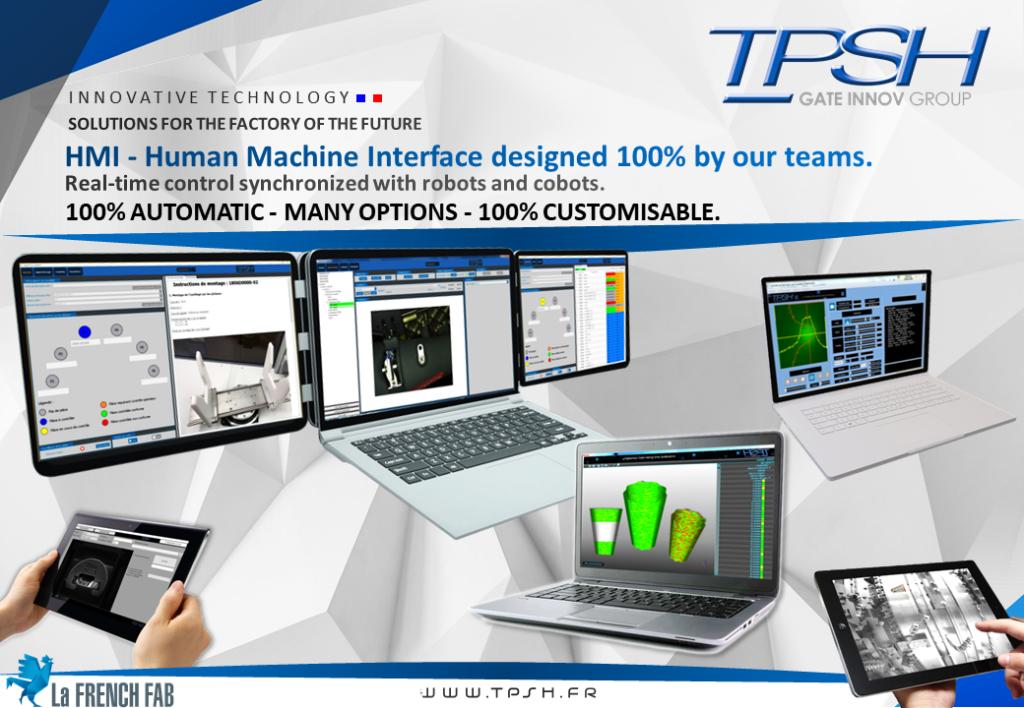 IHM_Interface Homme Machine conçue par TPSH