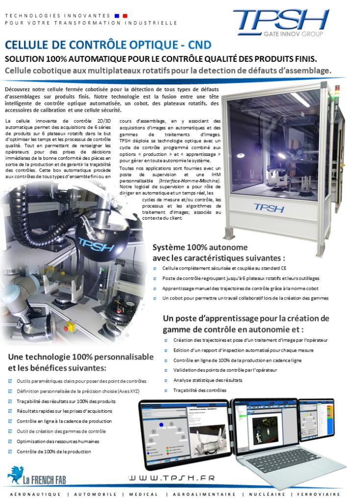 CND - Cellule de contrôle optique_inspection qualité automatique_cobottisée_TPSH