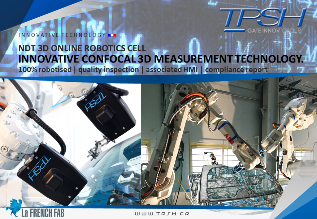 NDT 3D ONLINE ROBOTICS CELL_TPSH