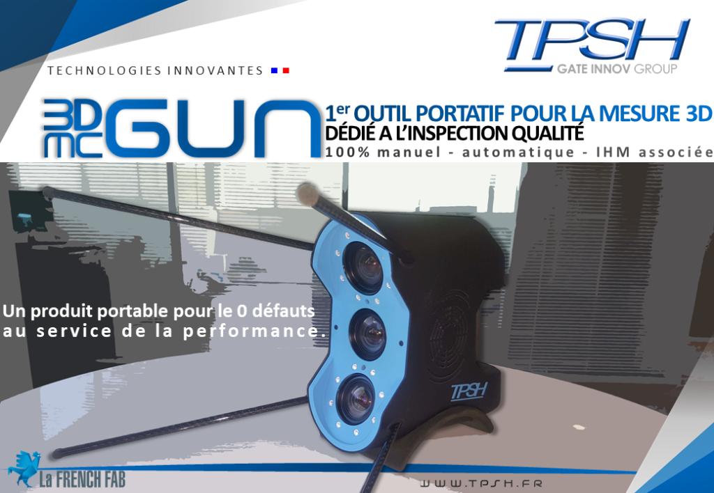 1er outil portatif de mesure 3D_3DMCGUN_TPSH