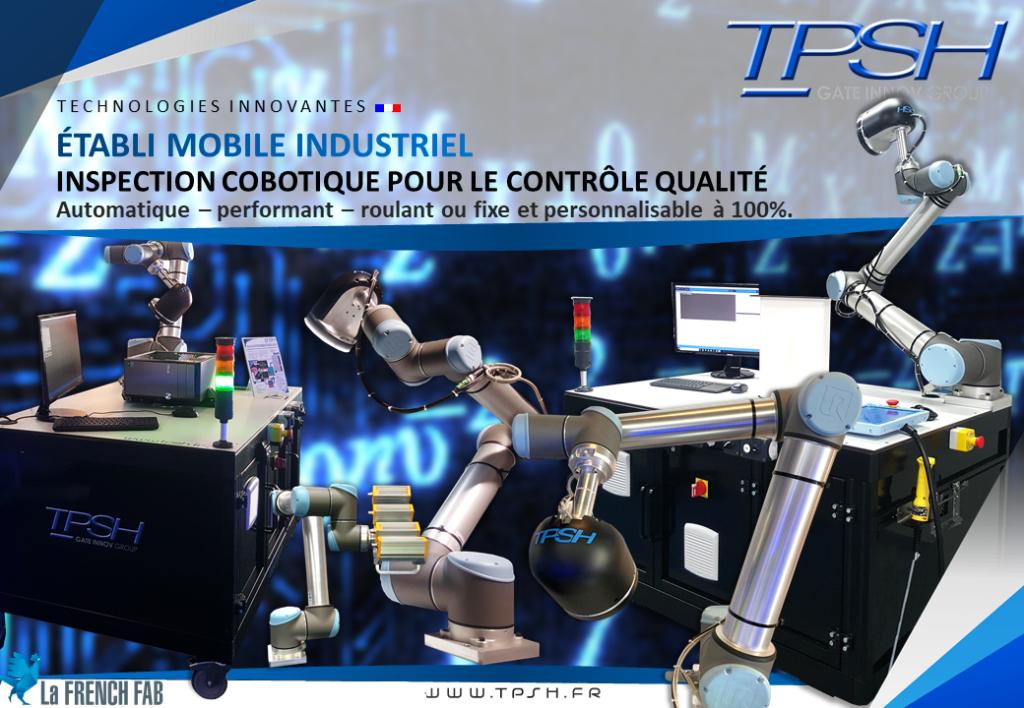 Etabli roulant ou fixe_inspection cobotique_contrôle qualité_TPSH