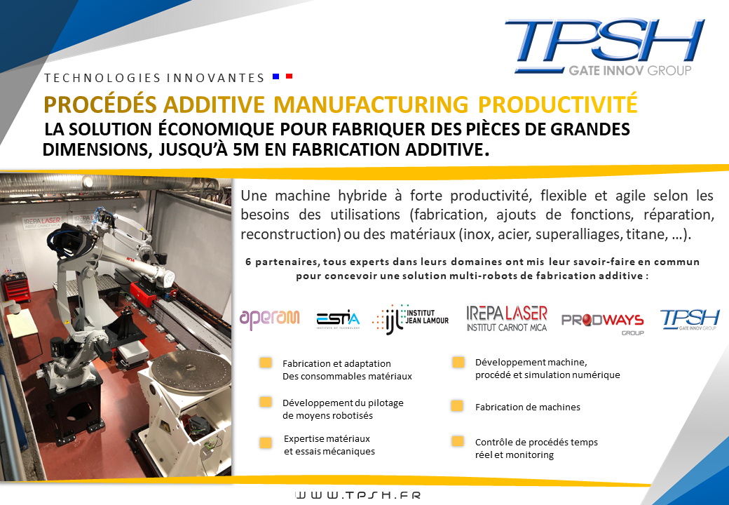 PAMPROD_machine de fabrication additive grande dimension_TPSH
