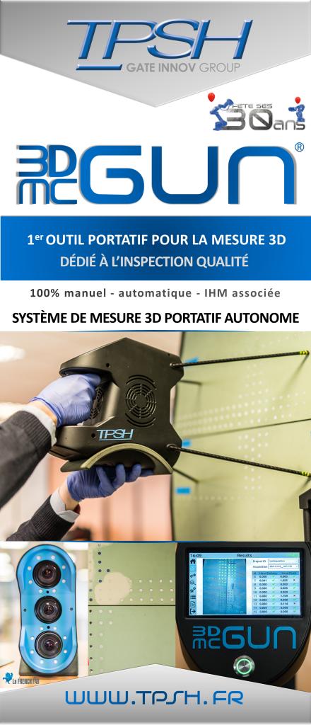 3DMcGUN_contrôle automatique_inspection qualité TPSH