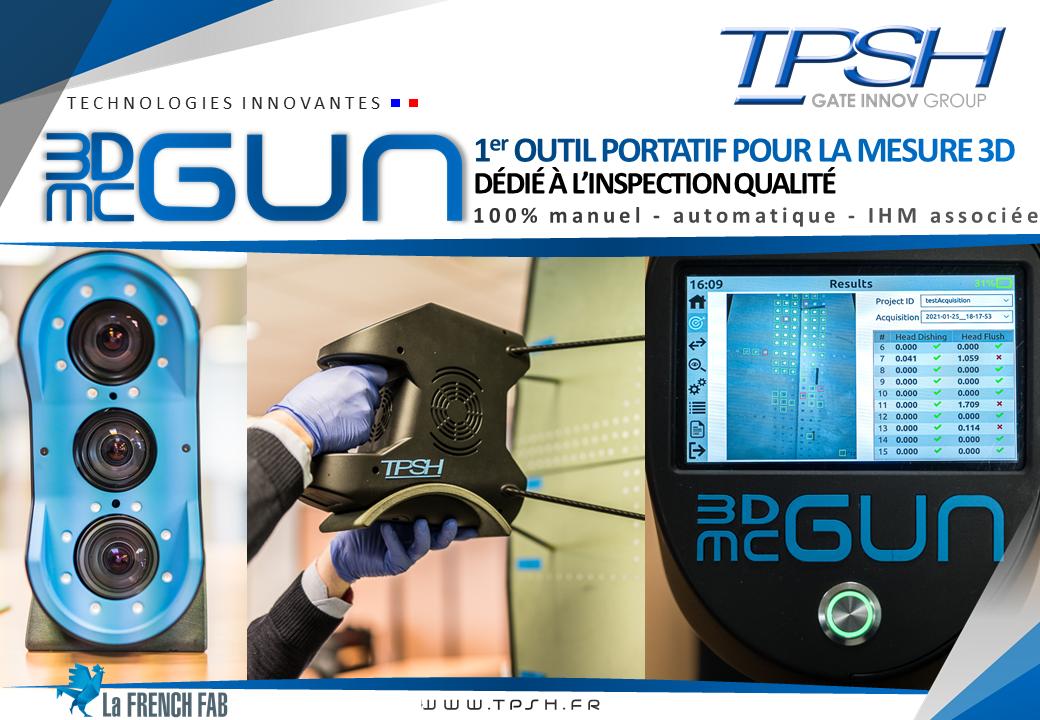 3DMcGUN_contrôle automatique_inspection qualité portatif_Atos_TPSH