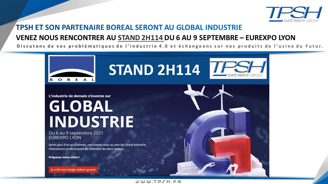 Global industrie 2021_LYON_BOREAL_TPSH